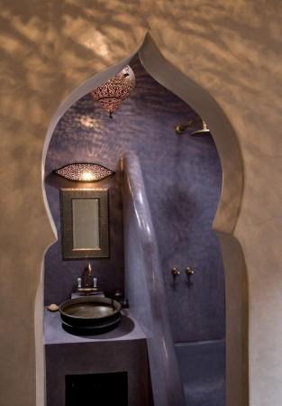 تصميم حمامات راقي ومميز بديكورات فخمة (4)