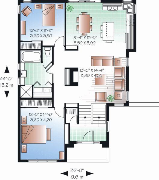 18x50 House Design Google Search: خرائط منازل بتصميمات هندسية عالمية