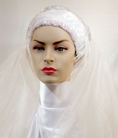 لفات طرح زفاف (10)