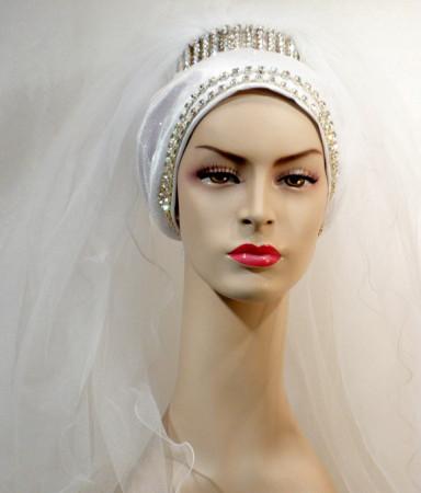 لفات طرح زفاف (8)
