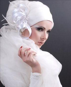 لفات طرح للمحجبات عرايس (4)