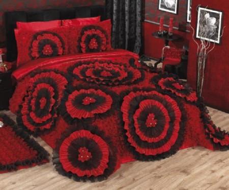 مفارش سرير احمر (2)