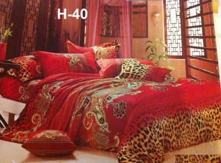 مفارش سرير احمر