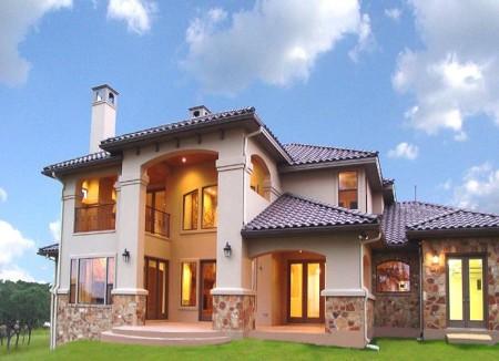 واجهات منازل 2015 تصاميم حديثة (3)