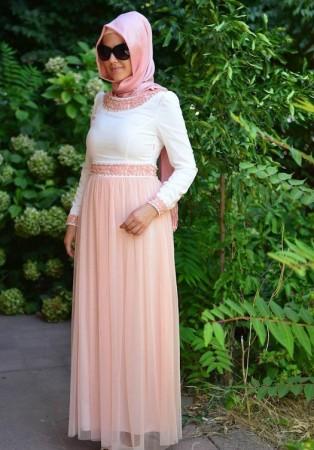 اجدد ملابس محجبات موضة صيف 2015 (2)
