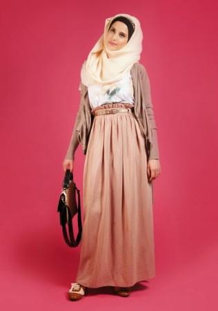 احدث موضة لفساتين المحجبات (3)