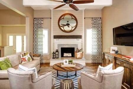 تصميمات منازل بديكورات عصرية من الداخل 2015 (2)