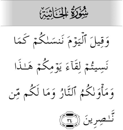 صور ايات قرأنيه سورة الجاثية (2)