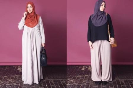 ملابس حوامل محجبات 2015 (1)