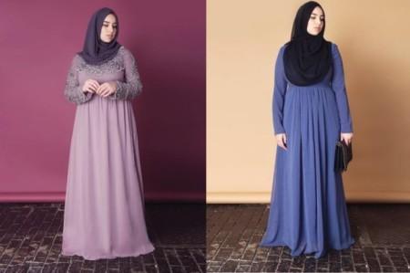 ملابس حوامل محجبات 2015 (2)
