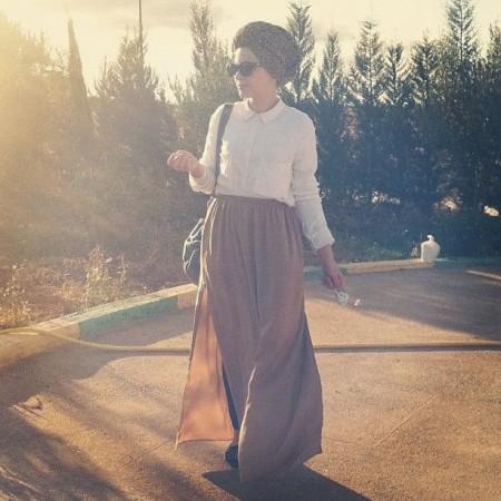 ملابس محجبات فساتين شيك وانيقة (2)