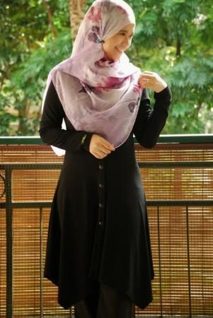 ملابس محجبات فساتين شيك وانيقة (3)