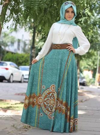 ملابس محجبات موضة صيف 2015 شيك للبنوتات (4)