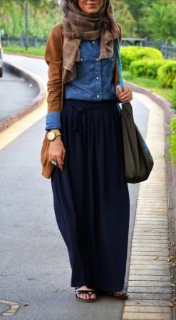 ملابس محجبات موضة صيف 2015 شيك للبنوتات (6)
