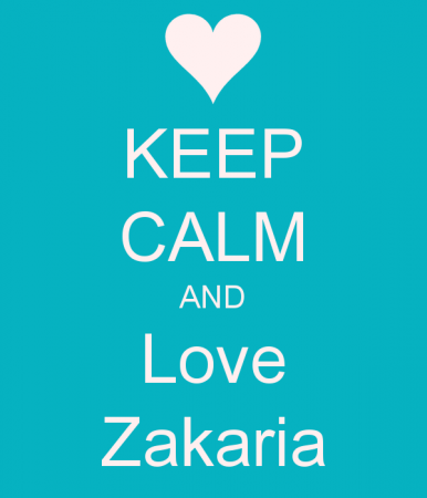 KEEP CALM AND LOVE ZAKARIA (4)