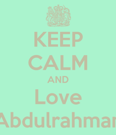 keep calm and love abdulrahman (2)