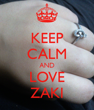 keep calm and love zaki (4)