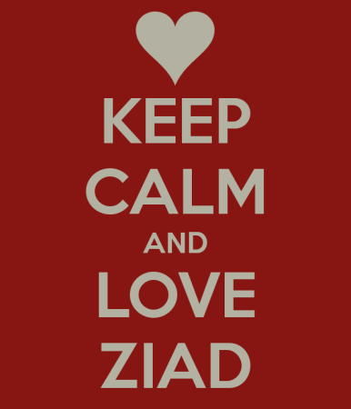 keep calm and love ziad (1)