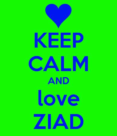 keep calm and love ziad (3)