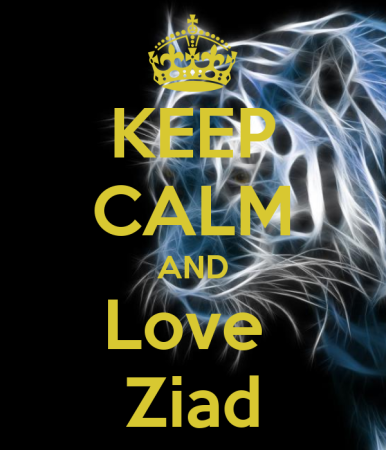keep calm and love ziad (4)