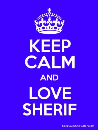 keep calm love sherif