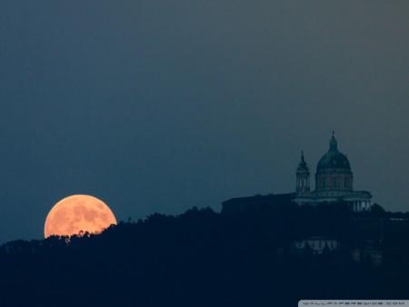 صور غروب القمر (2)