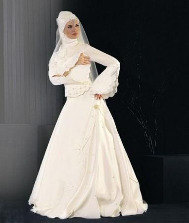 فساتين اعراس للمحجبات (3)