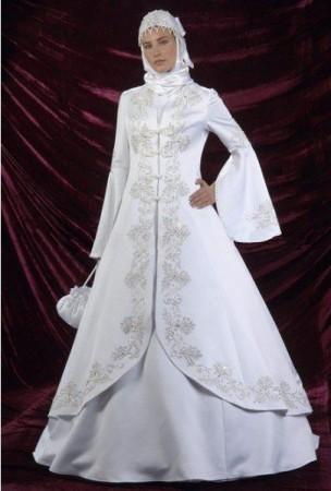 فساتين عروس محجبات (3)