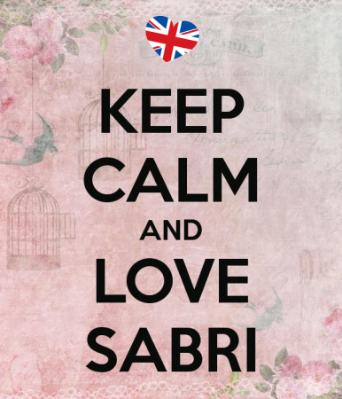 KEEP CALM AND LOVE SABRI (1)