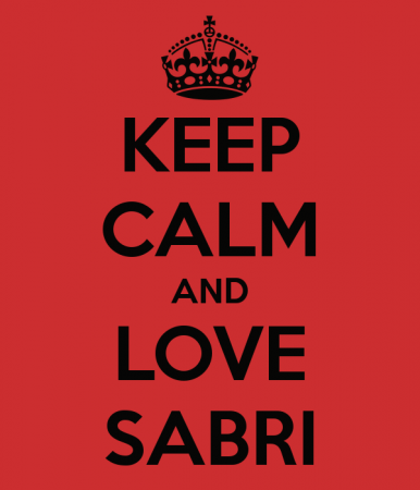 KEEP CALM AND LOVE SABRI (2)