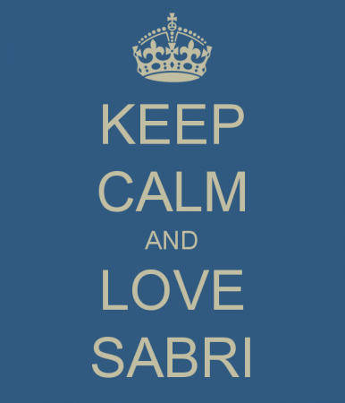KEEP CALM AND LOVE SABRI (3)