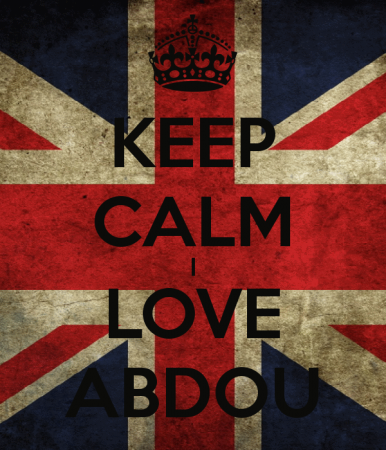 keep calm and love abdou (1)