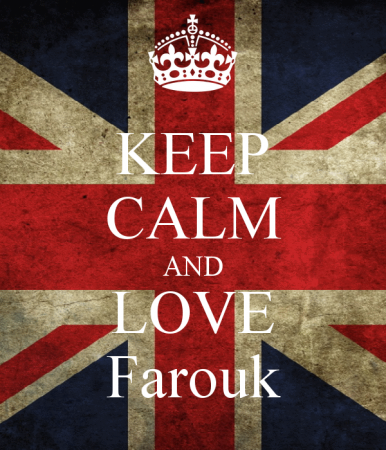 keep calm and love farouk (3)