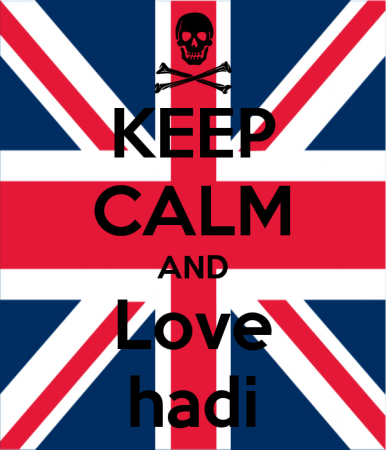 keep calm and love hadi (4)