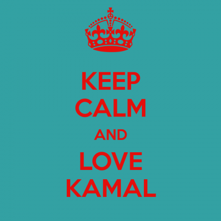 keep calm and love kamal