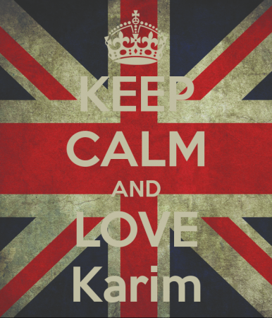 keep calm and love karim (7)