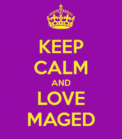 keep calm and love maged (2)
