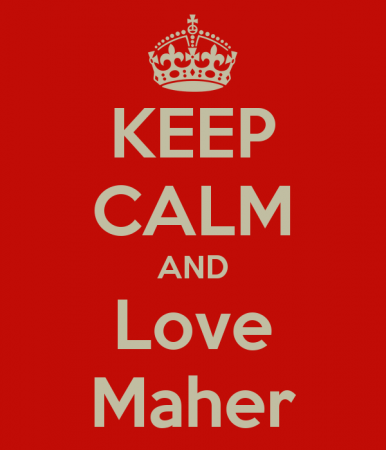 keep calm and love maher (4)