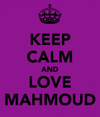 keep calm and love mahmoud (4)