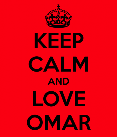 keep calm and love omar (2)