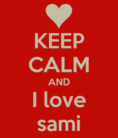 keep calm and love sami (2)