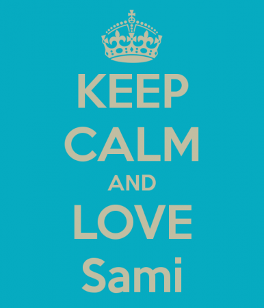 keep calm and love sami (4)