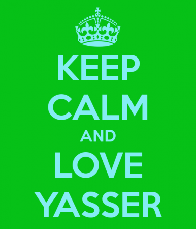 keep calm and love yasser (4)