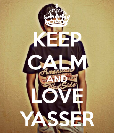 keep calm and love yasser (6)