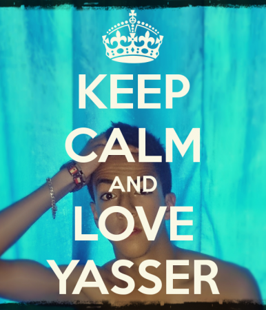 yaaser keep calm