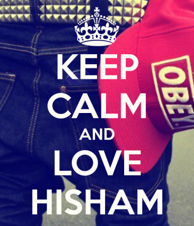 keep calm and love hisham (1)