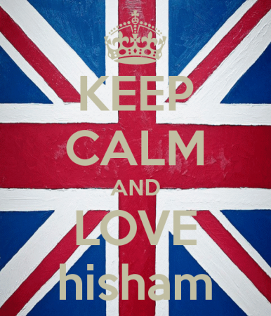 keep calm and love hisham (2)