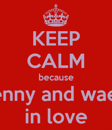 keep calm and love wael (2)
