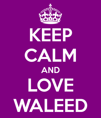 keep calm and love waleed (2)