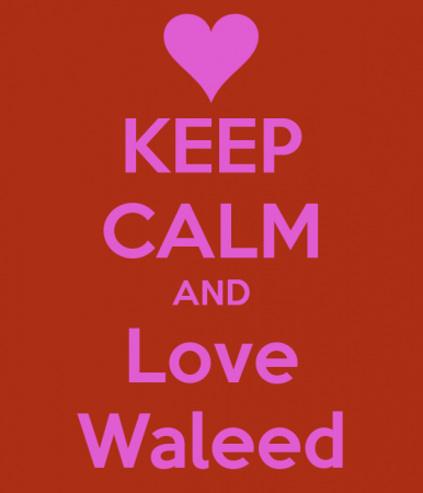 keep calm and love waleed (3)